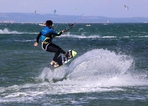 Kyte surf au mondial du vent