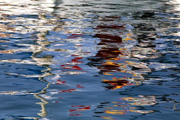 Reflets dans le Port de Saint-Cyprien