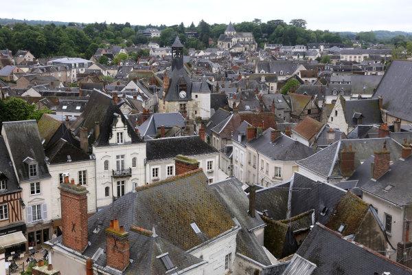 Les toits d'Amboise