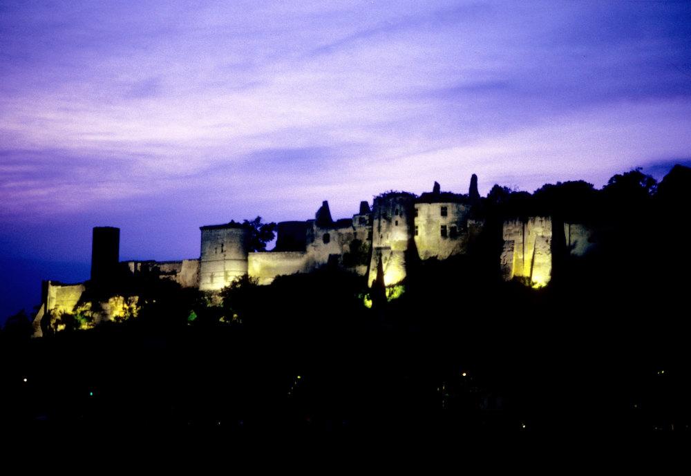 Le chateau de Chinon