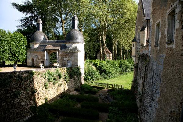 Le chateau de Courtanvaux