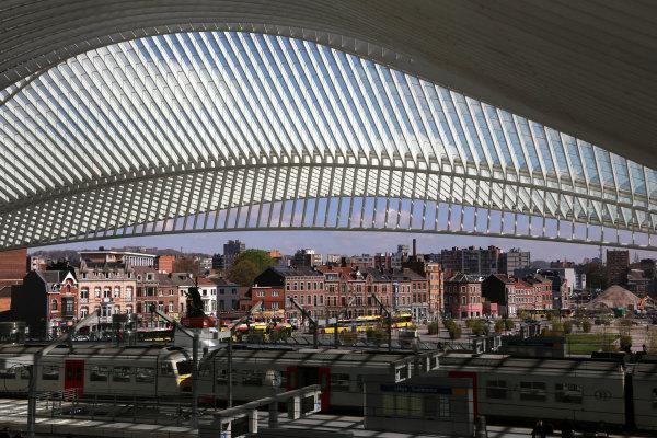 La gare de Liège