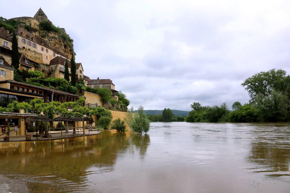 La Dordogne à Baynac
