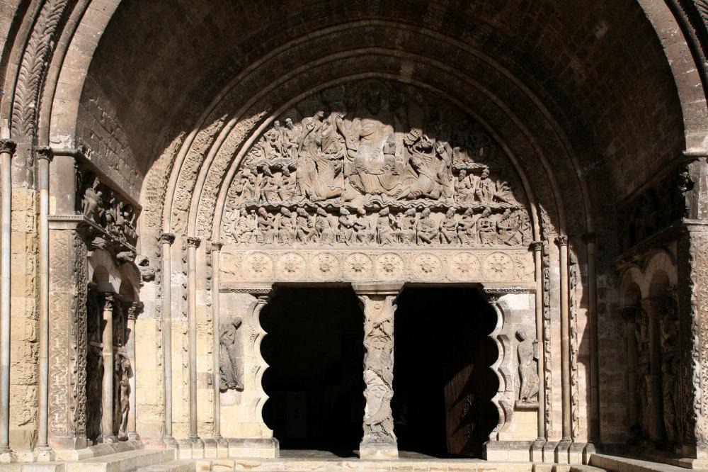 Le portail de Moissac