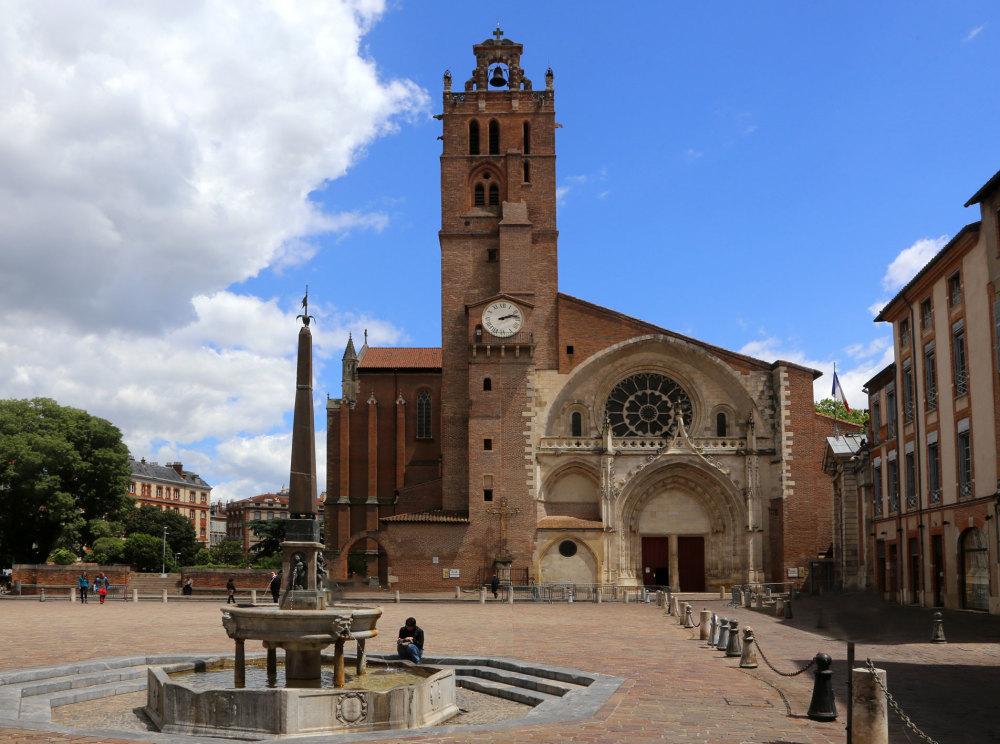 La cathédrale de Toulouse
