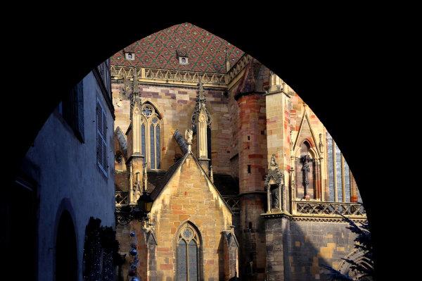 La cathédrale de Colmar