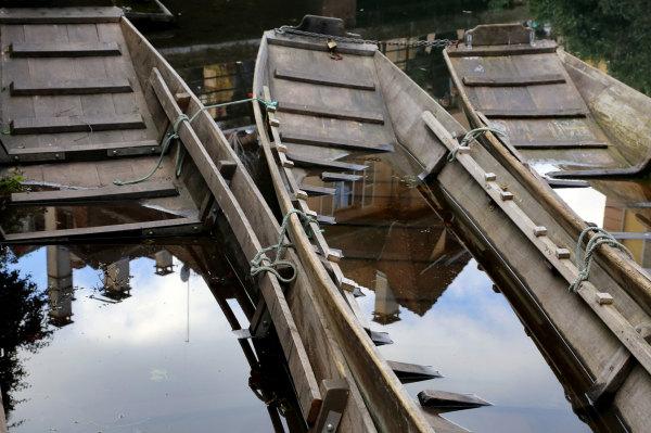 Les barques de Colmar