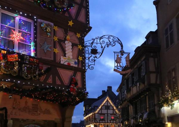 Les décorations de Noël de Colmar
