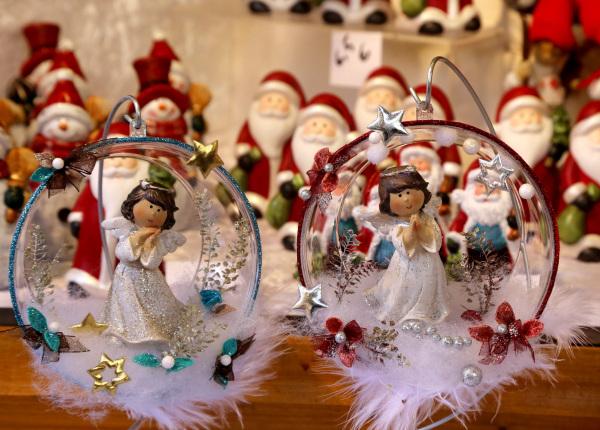 Sur le marché de Noël de Riquewihr