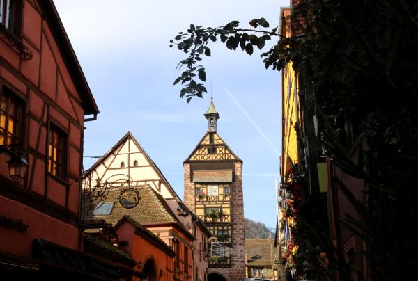 La rue principale de Riquewihr