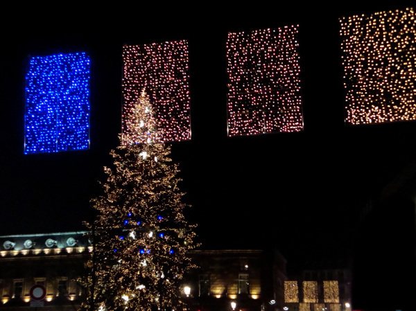 Le grand sapin de Strasbourg