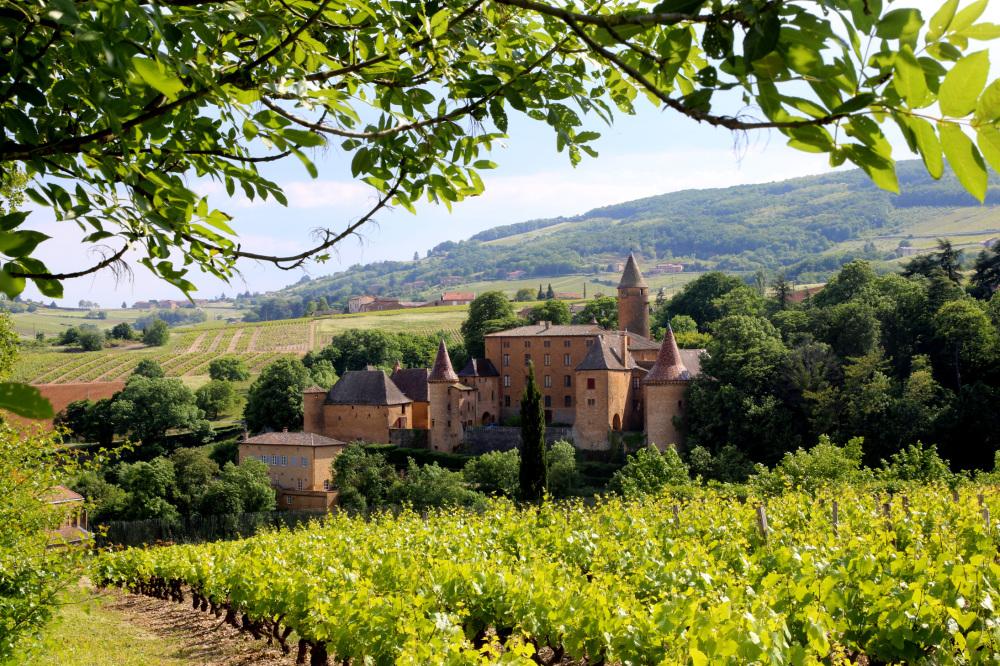 Un chateau du Beaujolais