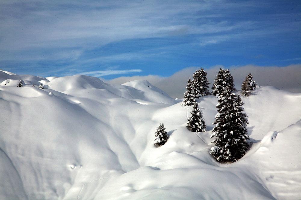 L'hiver à la Plagne
