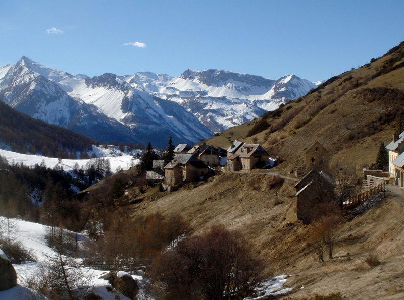 Le village de Fouillouse
