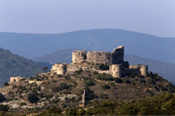 Le chateau d'Aguilar