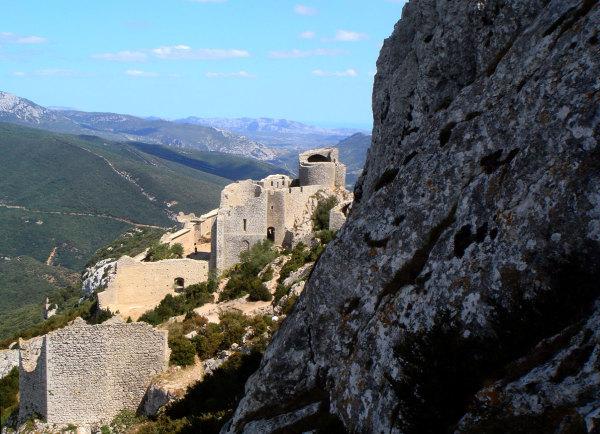 Le chateau de Peyrepertuse