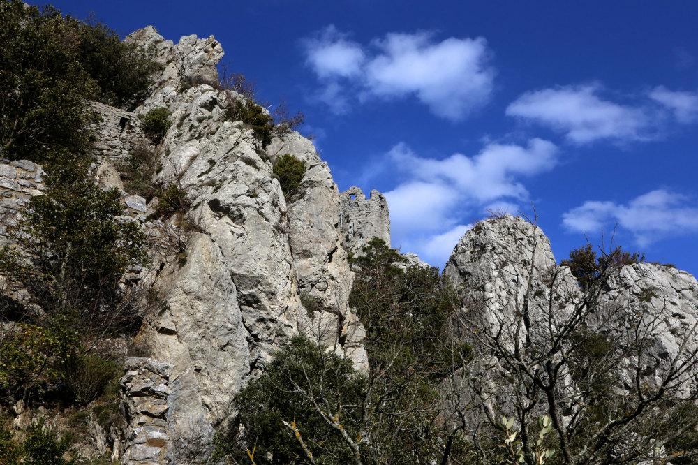Le chateau de Lapradelle-Puylaurens