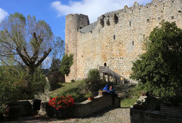 Le chateau de Villerouge Termenes