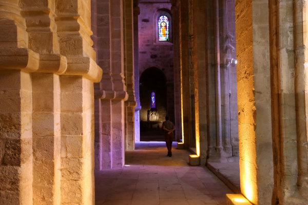 L'église de l'abbaye de Fontfroide