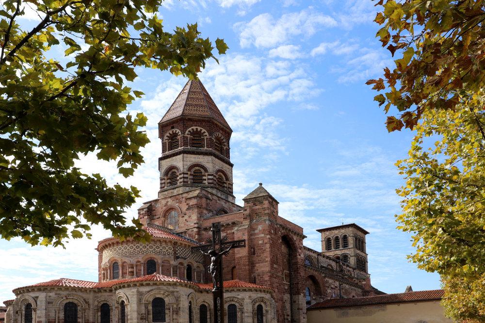 La cathédrale de Brioude