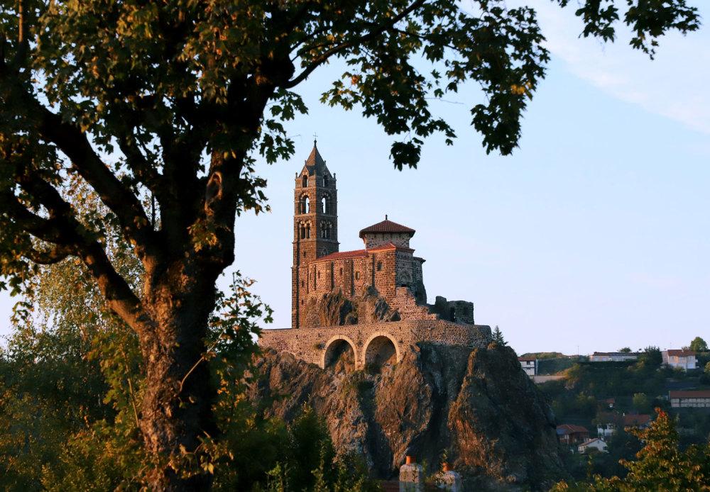 L'église St Michel d'Aiguilhe