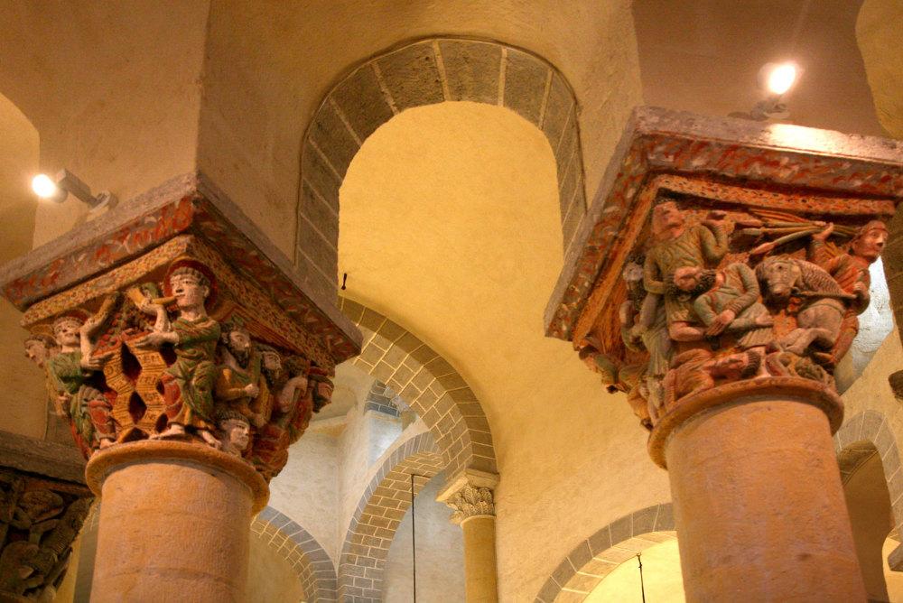 Chapiteau de l'église de St Nectaire