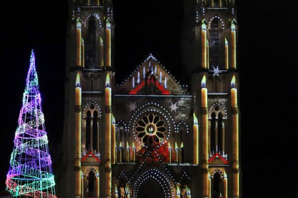 Les illuminations de Noël à Nimes