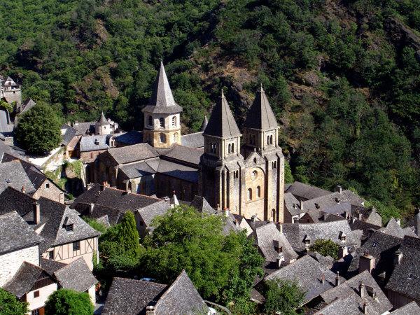 l'abbaye de Conques