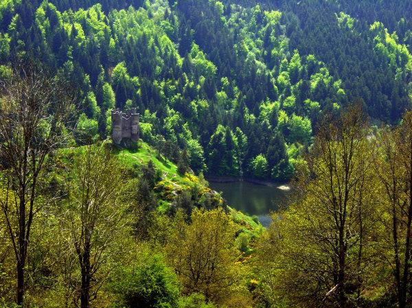 Le chateau d'Alleuse