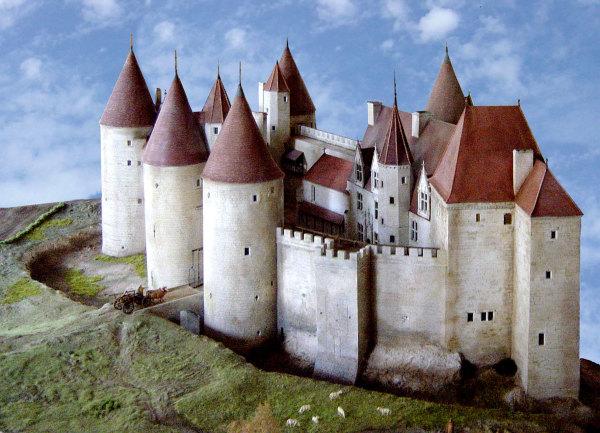 Maquette du chateau de Chateauneuf