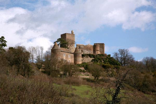 le chateau de Brancion