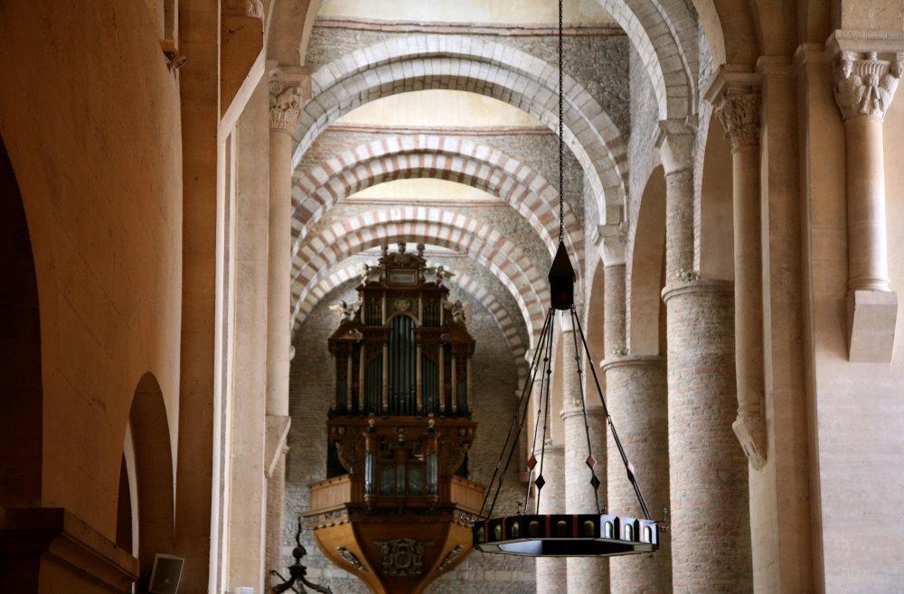L'abbatiale de Tournus