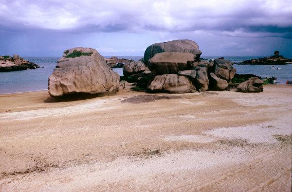 Les rochers de Perros Guerrec