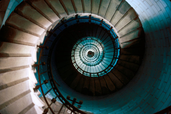 Escalier de phare breton