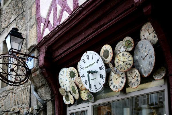 Une horlogerie de Vannes