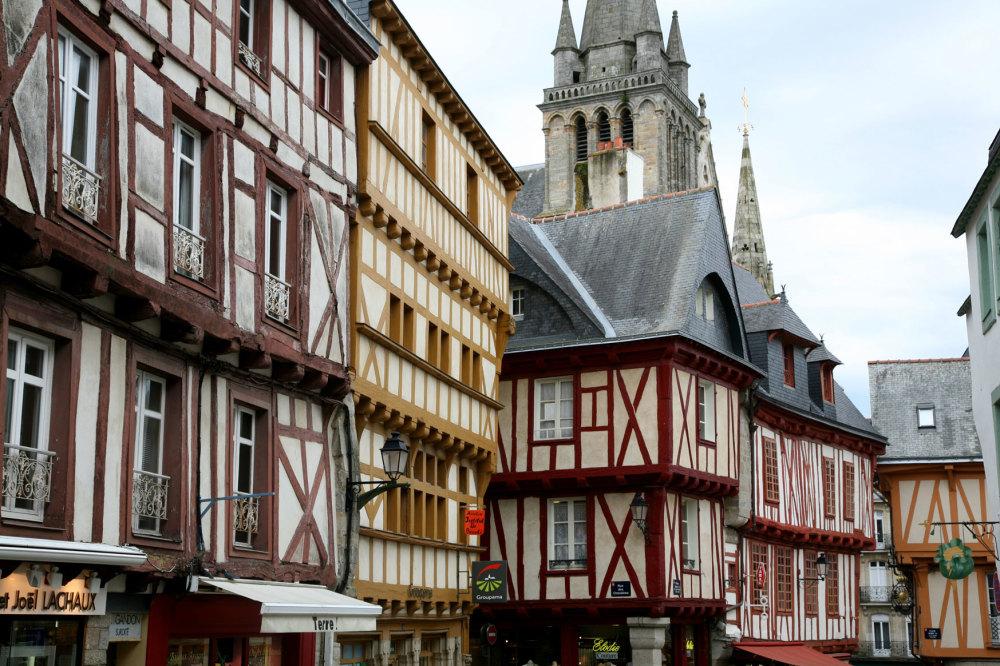 La vieille ville de Vannes