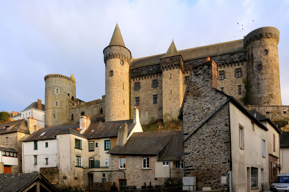 Le chateau de Vitré