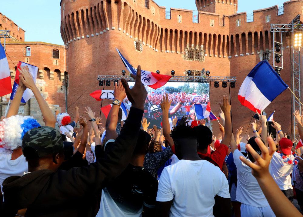 La victoire de la France au mondial de foot