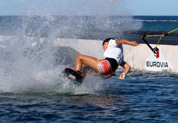 Competition de Wakeboard à Canet en Roussillon