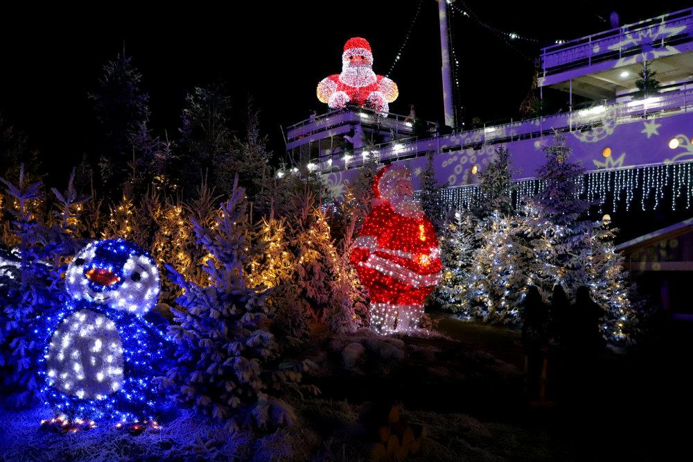 Village de Noël du Barcares