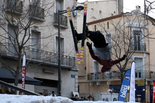 Urban ski au coeur de Perpignan