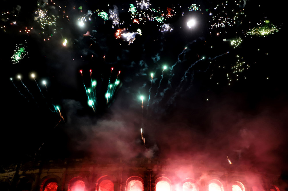 Spectacle de Noël à Nimes