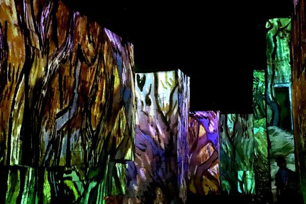 Exposition Van Gogh aux carrières de lumières des