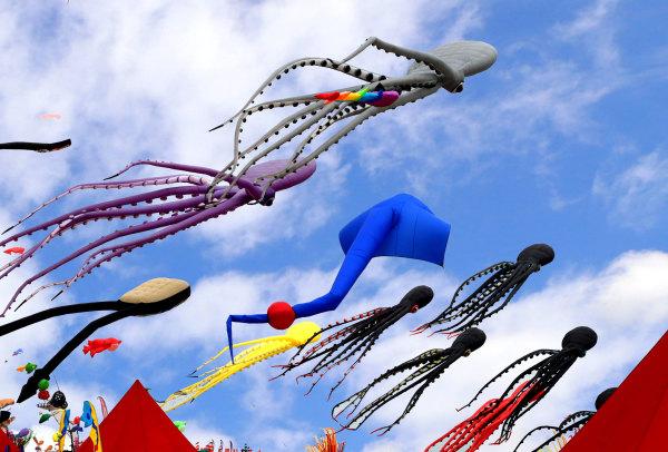 Festival cerfs volants de Narbonne plage