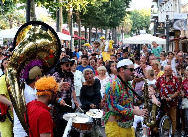 """Les jeudis de Perpignan """"Funky Style Brass"""""""