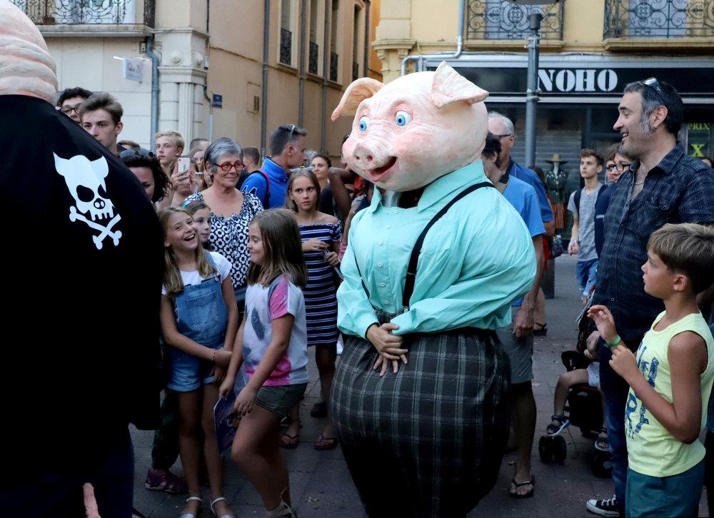 """Les Jeudis de Perpignan """"3 petits cochons"""""""