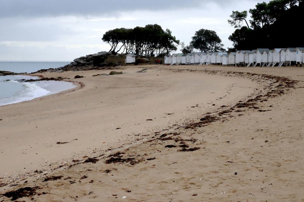 Les cabanes de bains de l'ile de Noirmoutier
