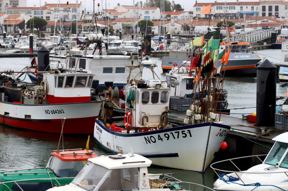 Un port sur l'ile de Noirmoutier