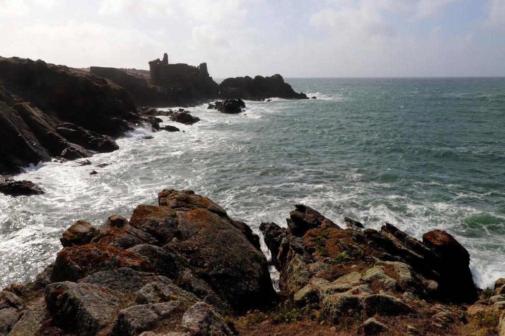La cote sauvage de l'ile d'Yeu