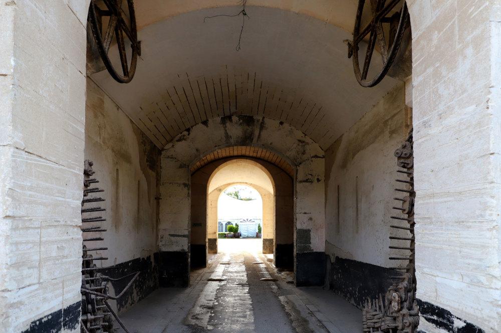 L'entrée du fort de la Pierre levée !